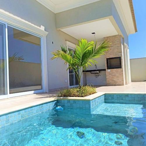 Casa C/ 3 Suítes, 1 Master À Venda, 230 M²  - Residencial Villa Di San Paolo - Ribeirão Preto/sp - Ca1669