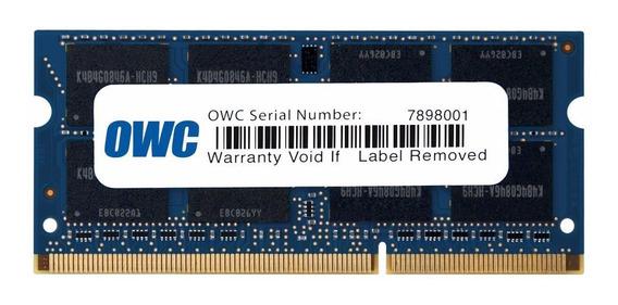 Memoria Ram Owc Ddr3 De 8 Gb 1600mhz