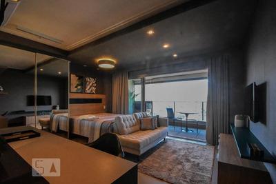 Studio No 15º Andar Com 1 Dormitório E 1 Garagem - Id: 892917613 - 217613