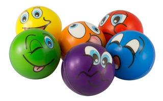 Bolinha Anti-stress Fisioterapia Emotion Smile Western