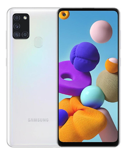 Imagen 1 de 6 de Samsung Galaxy A21s 128 GB blanco 4 GB RAM