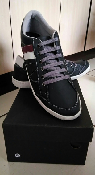 Sapatenis Doc Shoes De Couro Numero 43