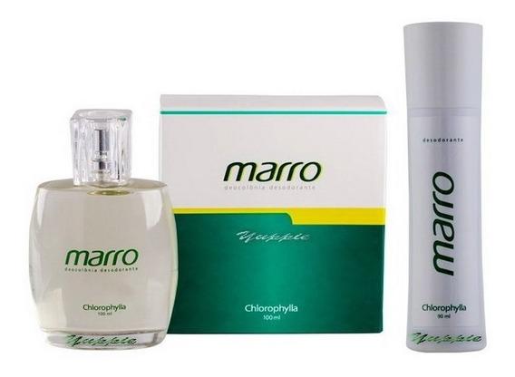 Kit Colônia + Desod Spray Marro Chlorophylla (100ml + 90ml)