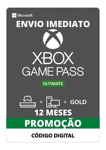 Game Pass Ultimate 12 Meses - Xbox One - Renovação