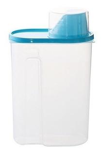 Envase Plastico Conservador Comida Contenedor Alimento 2kg B