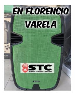 Parlante Karaoke Bluetooth Mic Noga Qx-23v Verde / En Florencio Varela