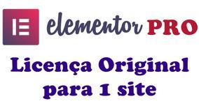 Licença Elementor Pro Original Válida 1 Ano + Atualizações