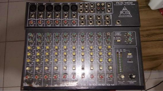 Mesa De Som Roos Sistems Rcs- 1402