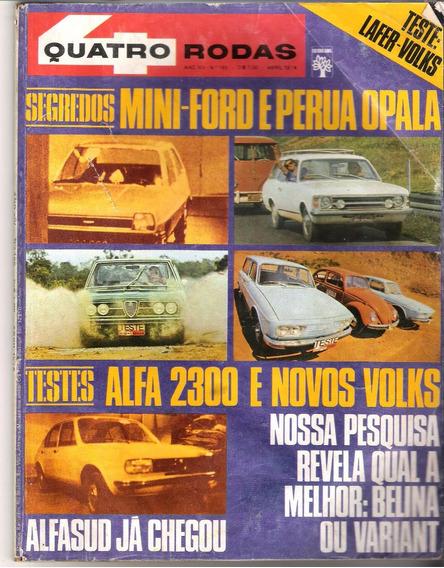 4 Rodas No. 165 Abril De 1974