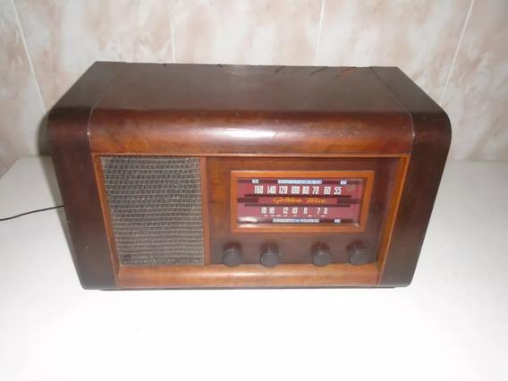 Rádio Antigo Valvulado Golden Voice Raríssimo