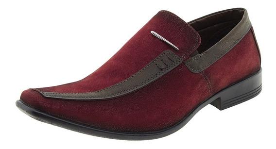 Sapato Masculino Social Bordô Bkarellus - 041