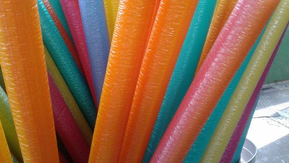 Isotubo Fantasia P/ Cama Elastica Kit C/ 08+08 Ponteiras