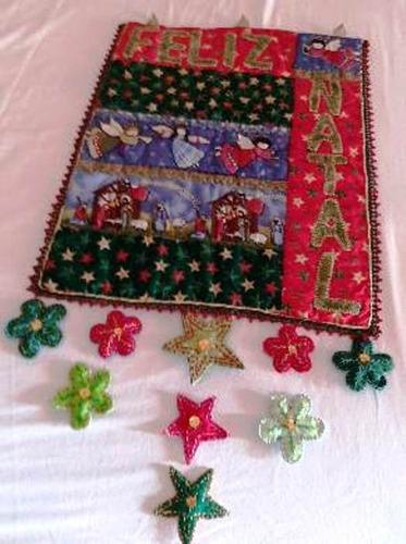 Imagem 1 de 1 de Panô De Natal Em Patwork