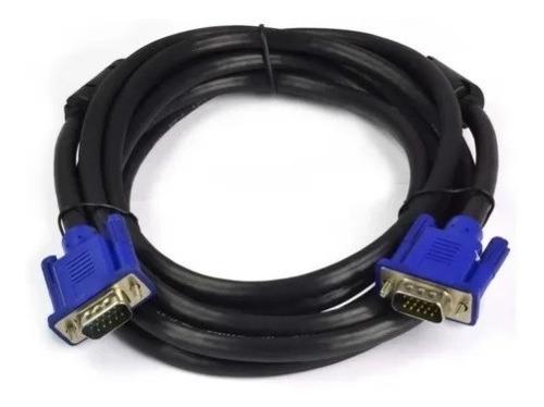Cable Jaltech  Vga De 3 Mts Con Doble  Filtro Para Monitor