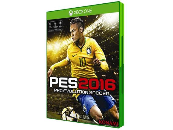 Pes 2016 Para Xbox One ( Novo E Original )