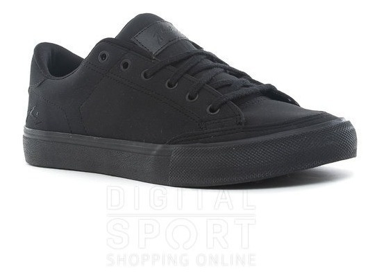 Zapatillas Rusty Toshi Totally Black Cuero Rz000225