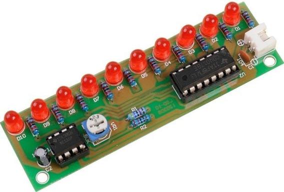 Kit Para Montar Led Sequencial Com Cd4017 ( Frete 12 Reais )