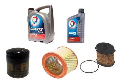 Kit Filtros + Aceite Quartz 10w40 Partner 1.9d