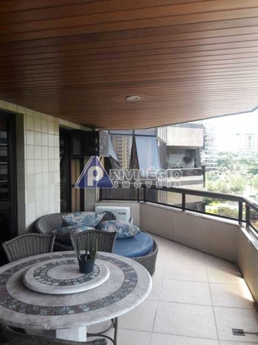 Imagem 1 de 27 de Apartamento À Venda, 4 Quartos, 2 Suítes, 3 Vagas, Barra Da Tijuca - Rio De Janeiro/rj - 120