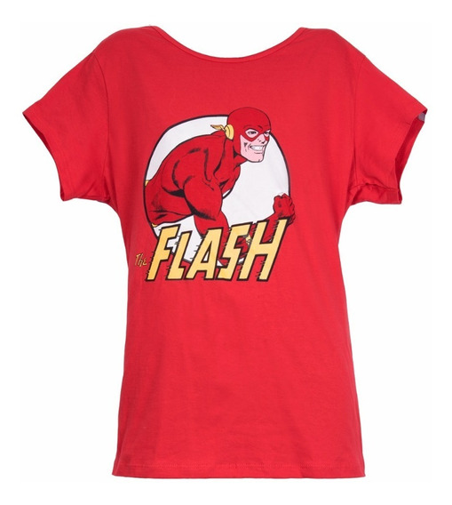 Remera, Dc, Flash Vintage, Dama Ovni Press, Original