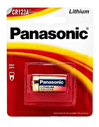 Imagen 1 de 1 de Pila CR123A Panasonic CR CR123A Cilíndrica - 1 Unidad