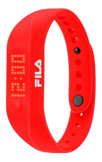 Relógio Fila Tracker Vermelho 38901001