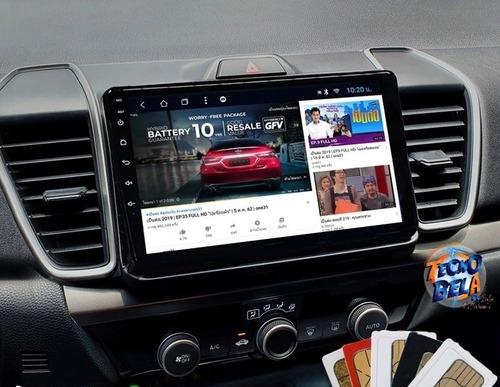 Imagen 1 de 6 de Autoestéreo Android 9' Honda City 2019-2021 Gps Mapas Camara