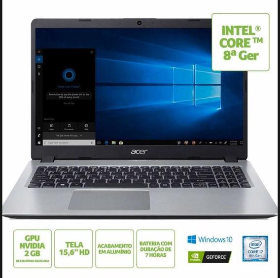Notebook Acer Aspire A515 Core I7 8gb Placa De Video Nvidia
