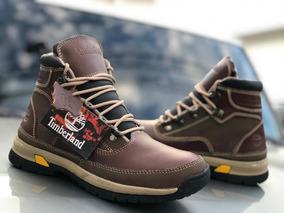 Botas Zapatos Timberland En Cuero Para Hombre