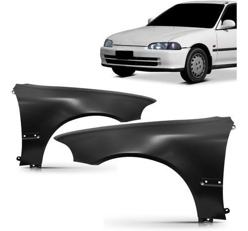 Paralama Civic Sedan 4 Portas 1992 1993 1994 1995