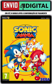 Sonic Mania - Pc - Envio Digital
