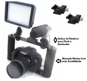 Suporte Para Camera Gtek + Led W160 + Suporte Para Celular