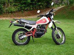 Honda Xlr 250 1983 Placa Preta Nunca Restaurada Excelente