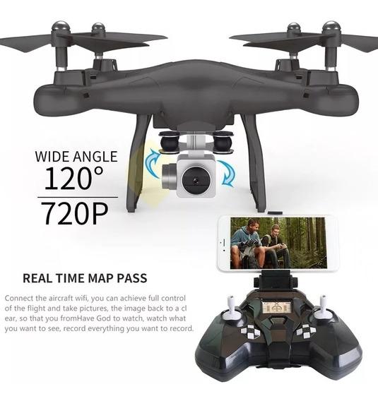 Drone Smrc S10 Câmera Fpv 720p Preto