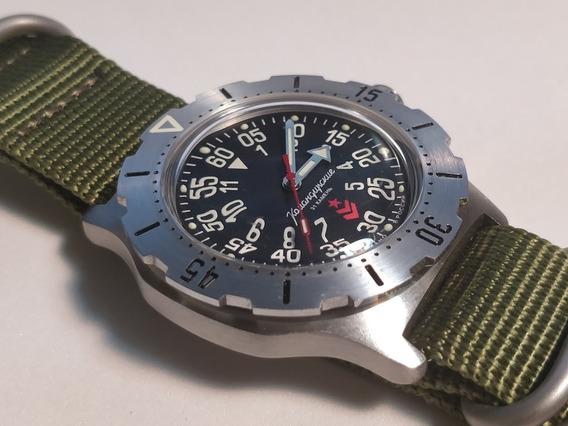 Reloj Vostok Komandirsky K-35 / Mecánico - Automático