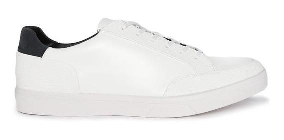Tenis Calvin Klein Hombre Piel Blancos 100% Original Nuevo