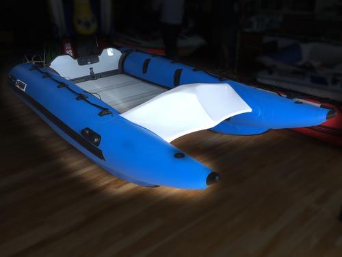 Bote Cataman Piso De Aluminio Desarmable 3.80  Torque Marine