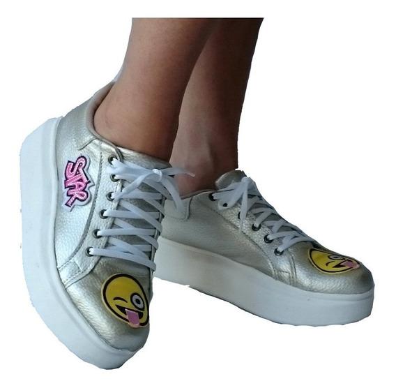 50% Descuento ..zapatillas Pompones Con Plataforma