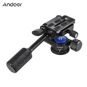 Andoer A -40 Liga Alumínio Cabeça Vídeo 360 Da Câmera Maneir