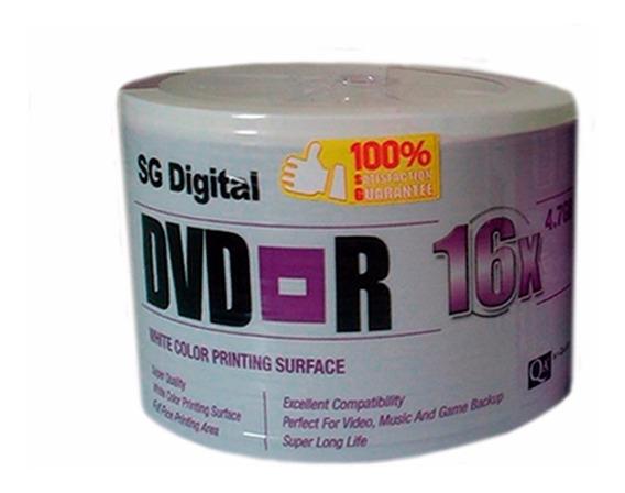 Dvd Virgen Sg Digital 4.7 Gb 16x Paquetes De 50 Originales