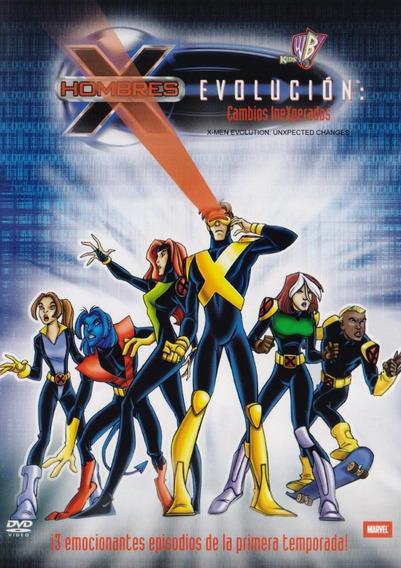 X-men Hombres X Evolucion Cambios Inexperados Dvd