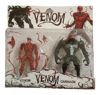 Venom Y Carnage Muñecos Blister X2