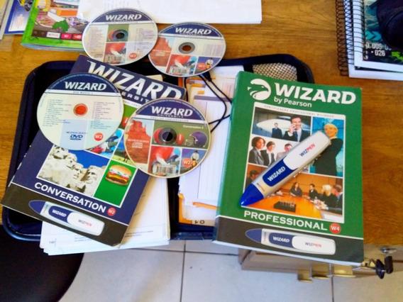 Livro Wizard W2 E W4 + Caneta