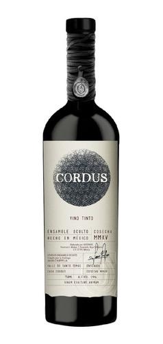 Imagen 1 de 2 de Vino Tinto Cordus Ensamble Oculto 750ml