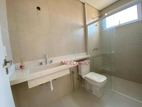 Casa À Venda, 227 M² Por R$ 1.290.000,00 - Condomínio Spazio Verde Comendador - Bauru/sp - Ca3344