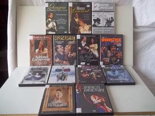 Dvd - Lote 13 Filmes Musical Musicais Raro