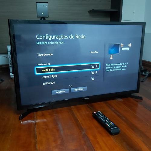 Imagem 1 de 6 de Smart Tv Led Samsung 32 Un32j4300ag