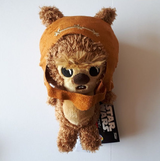 Wicket Warrick Ewok Galáctica Plushies Star Wars