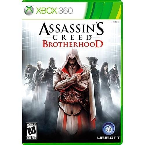 Xbox 360 Assassins Creed Brotherhood Novo Lacrado
