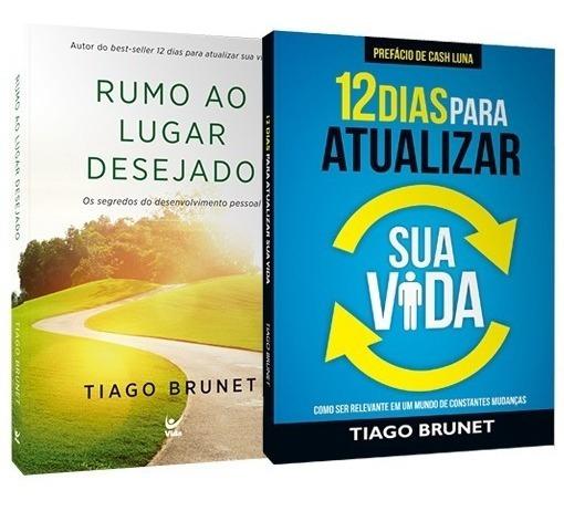 Kit 12 Dias Pra Atualizar Sua Vida + Rumo Ao Lugar Desejado